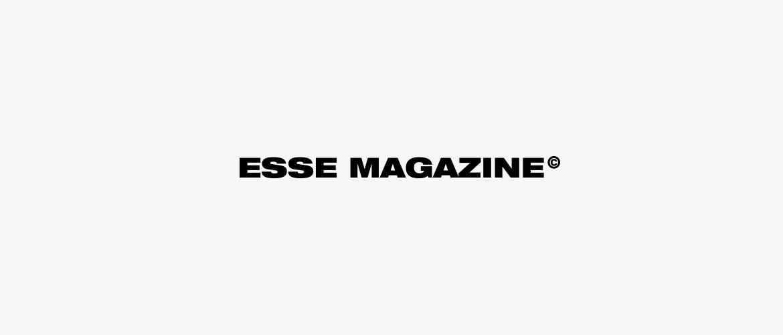 Esse Magazine portfolio buytron