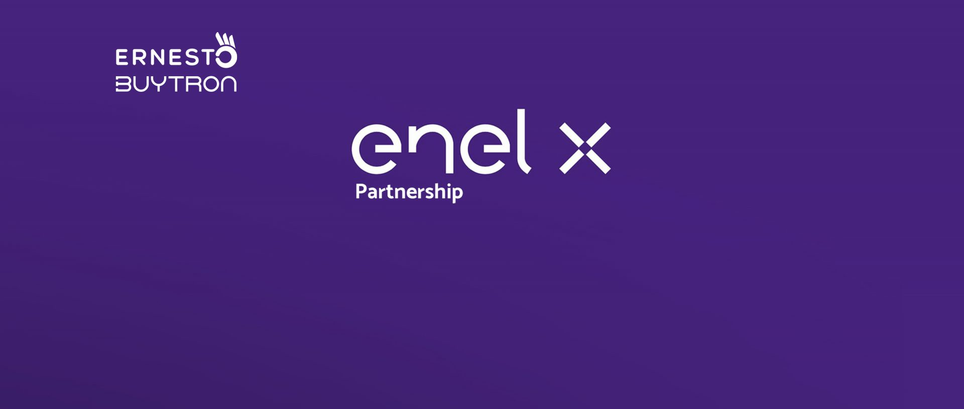Partnership tra Enel X ed Ernesto