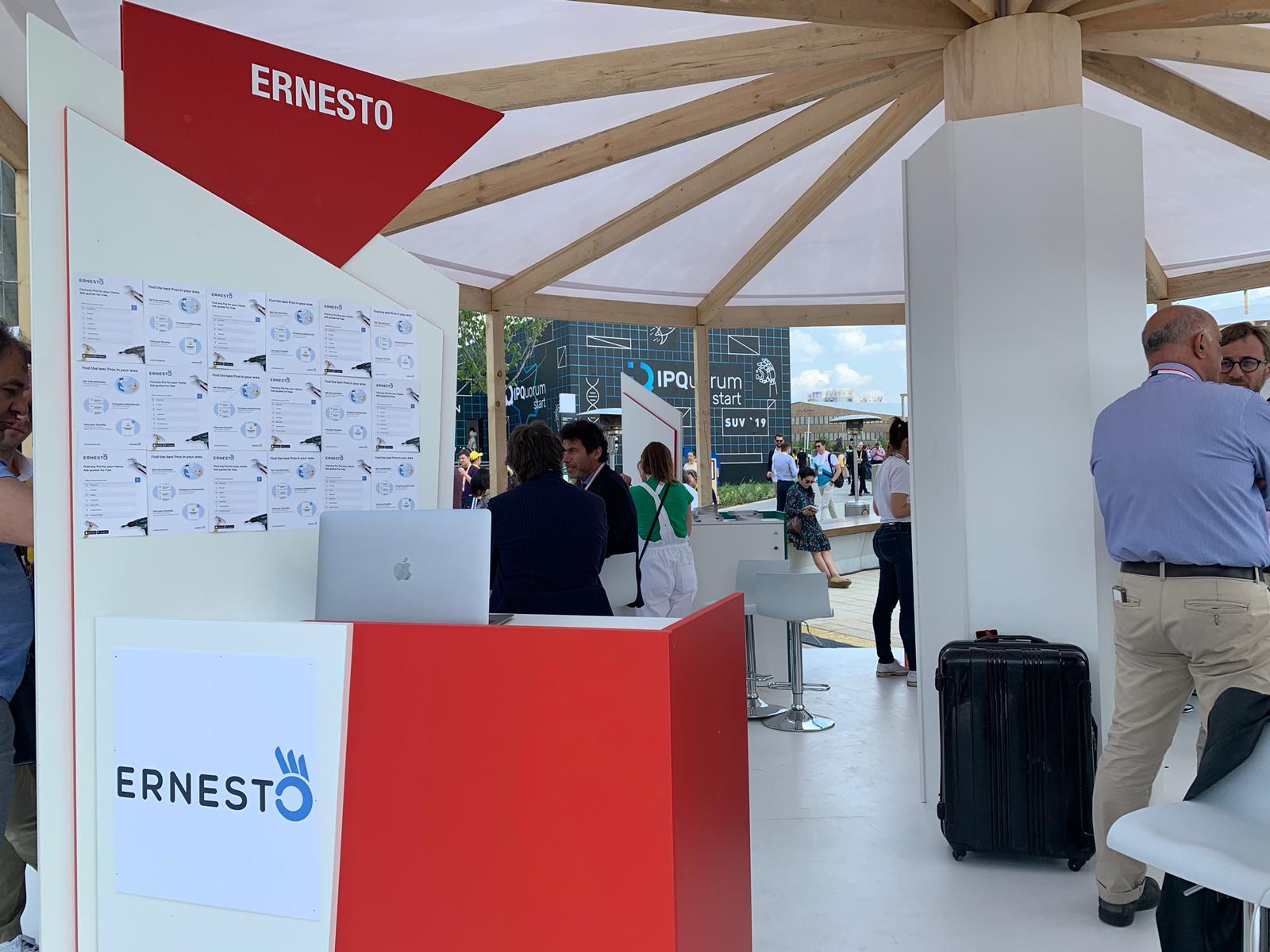 Ernesto a Mosca per lo Startup Village 2019