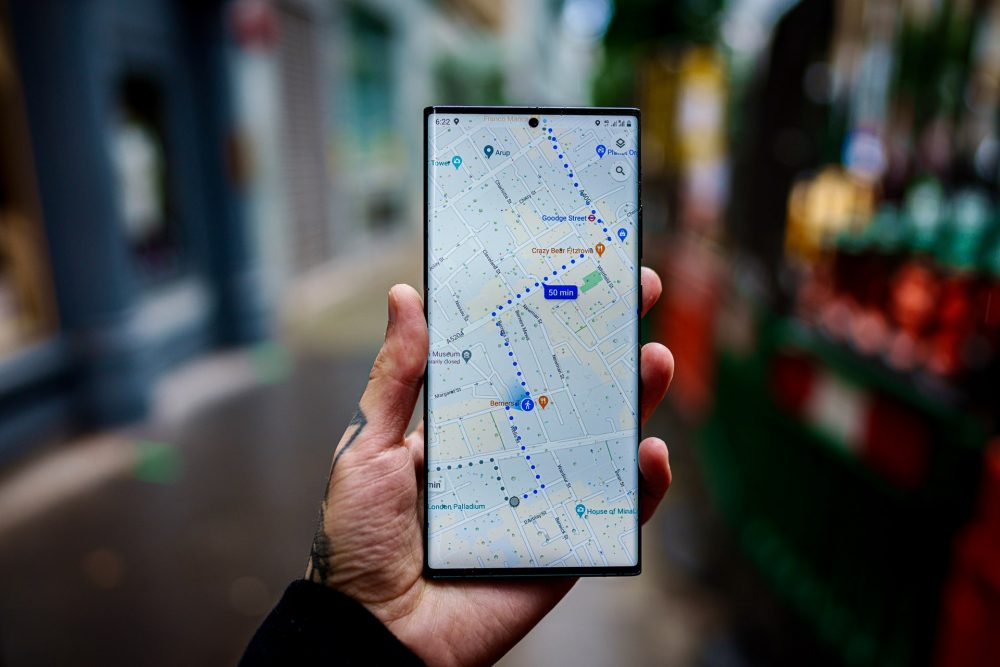 google maps strade digitale